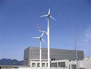 Wind power generation experimentation