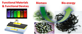 Functional material synthesis, device development, and biomass conversion