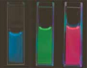 Oxide nanosheet luminescent material in 1 nm-thick sheets