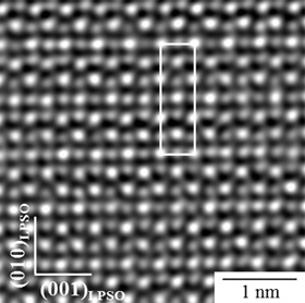 Transmission electron microscope of zirconium alloy that is a prospective high-temperature shape-memory alloy