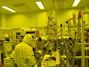 ナノ薄膜形成実験